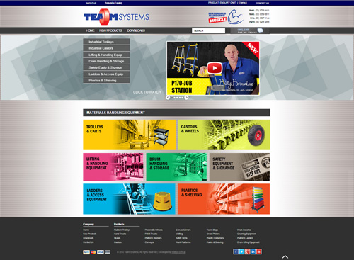 Team Systems website
