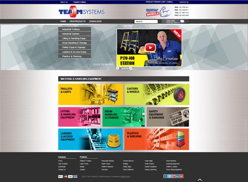 Team Systems website